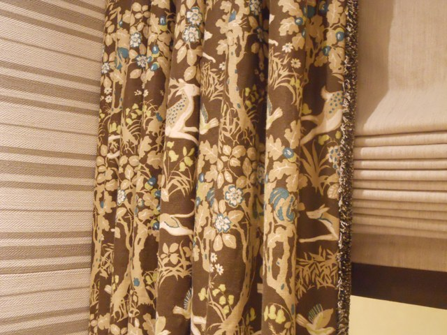 Cohler curtain detail