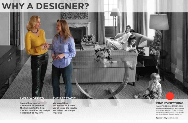 Nobel Introduced Us To A New Campaign Sponsored By The DFA That Will Introduce General Public Joys Of Working With An Interior Designer