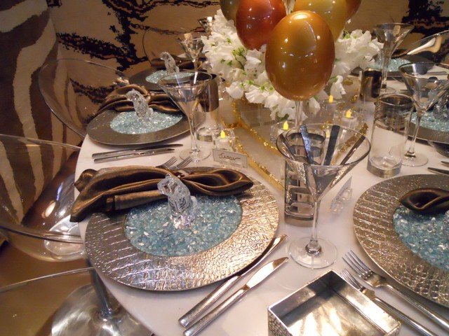Bon Thanksgiving Tabletop Decorating, Inspired By DIFFA Dining By .
