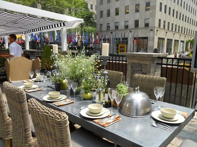 Outdoor dining koty