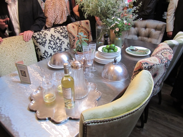Kravet dining at koty