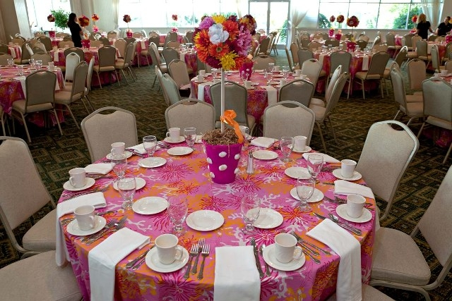 Lilly tablescapes