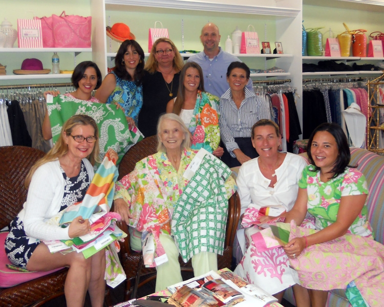 It is truly an honor to carry on the Lilly Pulitzer legacy  We hope she  chooses some of these fabrics for her own home  and we hope you do too. Inspired talk  Lilly Pulitzer