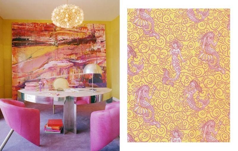 Kelly Wearstler design Brunschwig Fils fabric