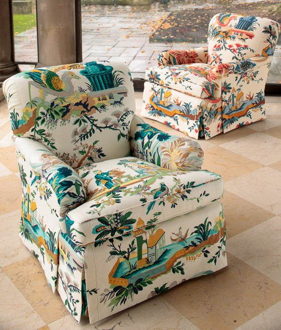 Le Lac Bedford Chair Brunschwig Fils