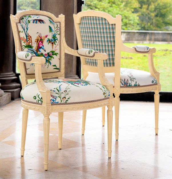 Brunschwig fils introduces le jardin chinois fabric for Decoration jardin chinois