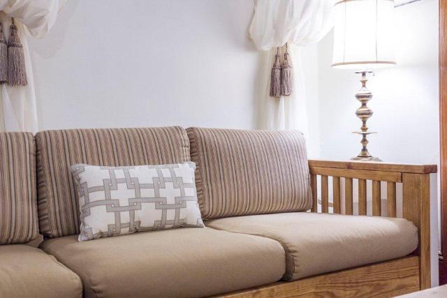 Living room after- sofa image