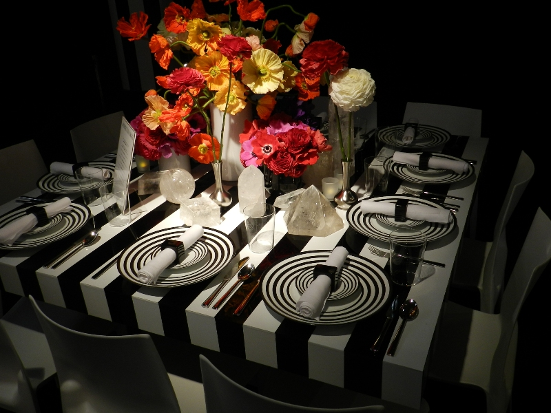 Architectural Digest DIFFA Dining by Design 2013