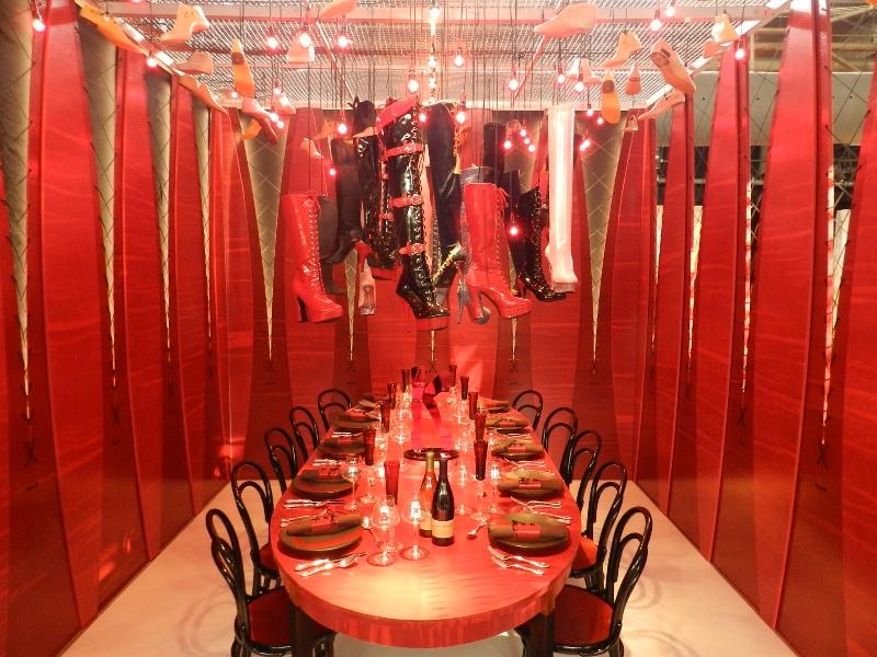 Kinky Boots Maya Romanoff David Rockwell DIFFA Dining by Design Kravet 2013 392