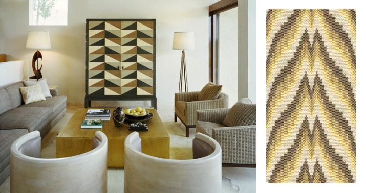 Kelly Wearstler design, Lee Jofa fabric
