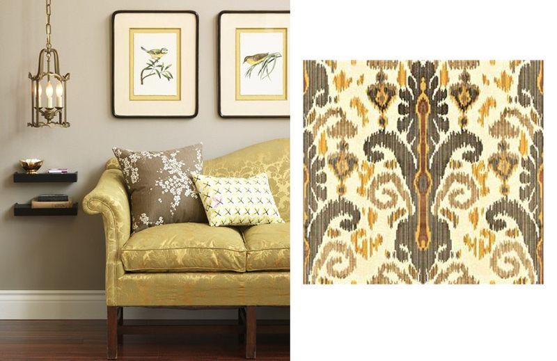House and Home image Lee Jofa fabric