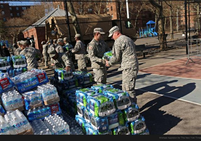 Troop volunteers NYT