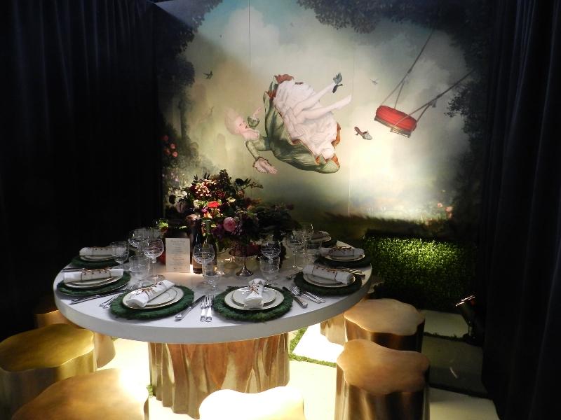 Rachel Laxer Interiors Robert Kuo DIFFA Dining by Design 2013