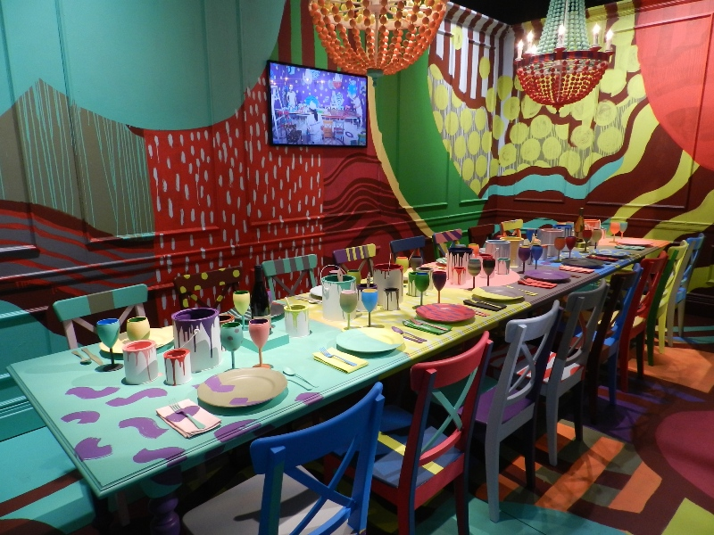 Benjamin Moore David Stark DIFFA Dining by Design 2013