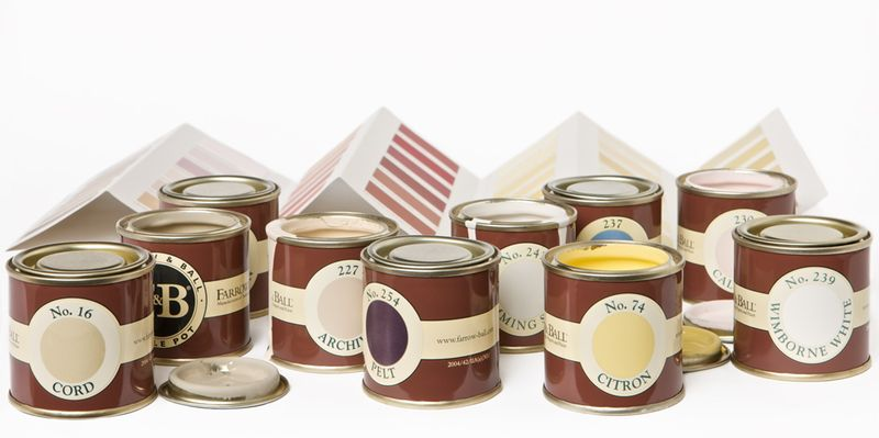 Farrow & Ball at Lee Jofa Paint Tins