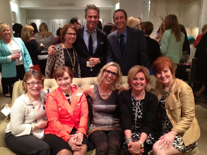 Kravet Atlanta team with Jeffrey Alan Marks Candice Olson