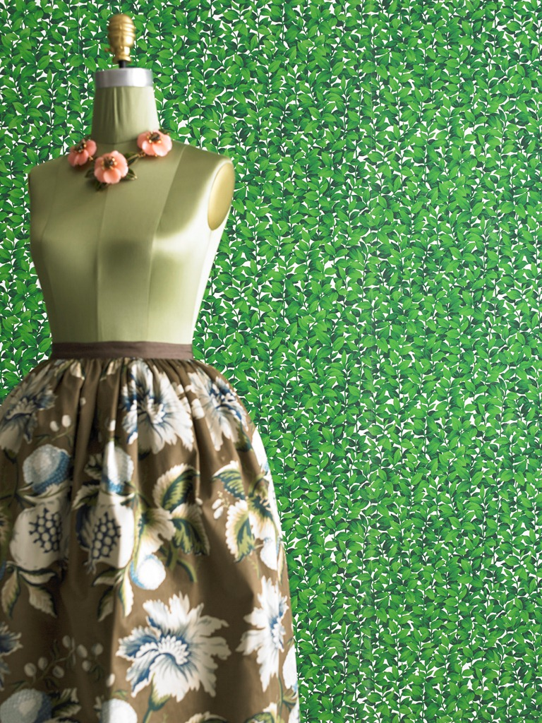 Lee Jofa Oscar de la Renta Hedges wallpaper