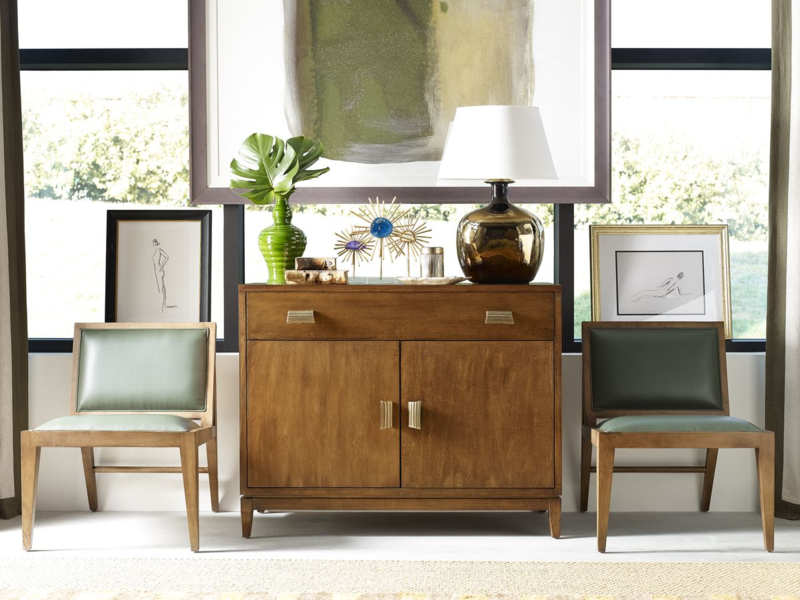 Alexa Hampton for CuratedKravet console