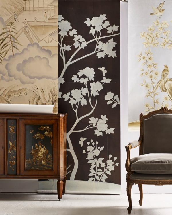 Brunschwig Fils Handpainted Wallpaper