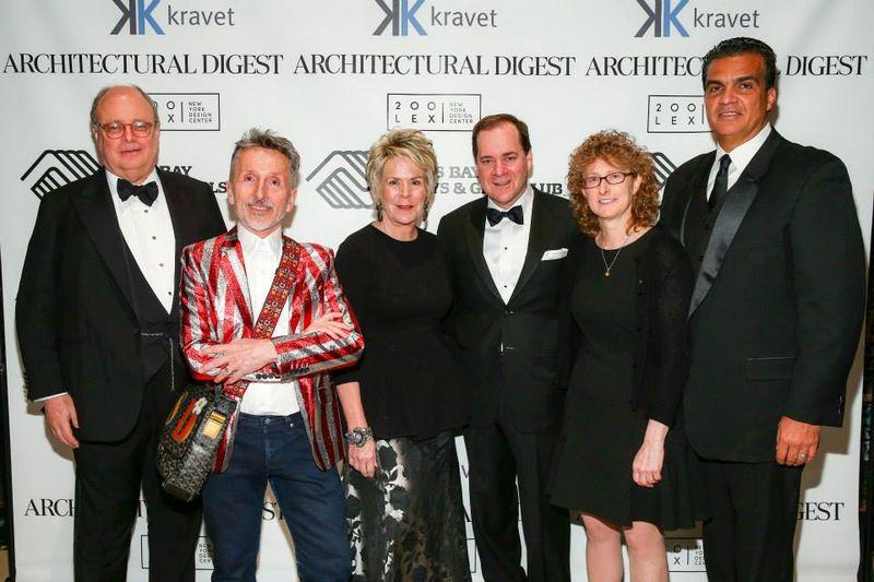 Jim Druckman, Simon Doonan, Bunny Williams, Cary Kravet, Lisa Kravet, Daniel Quintero