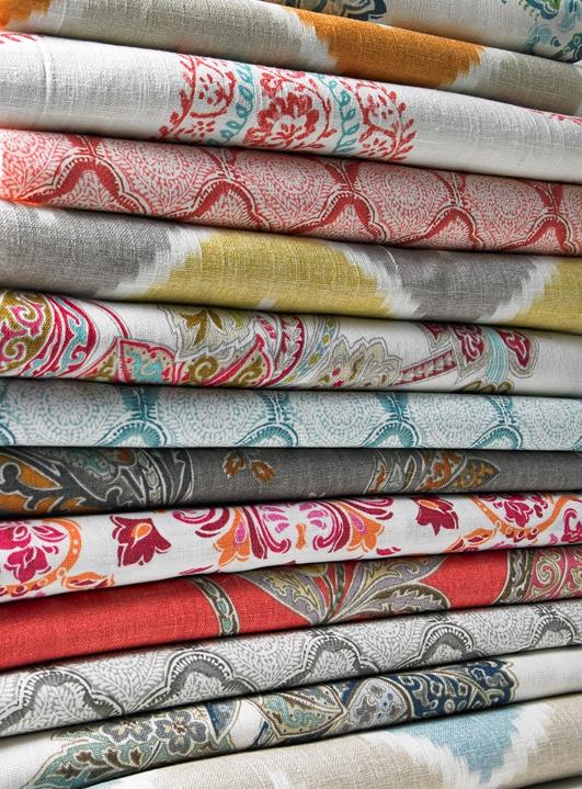 KRAVET Echo Design Heirloom India pillow stack
