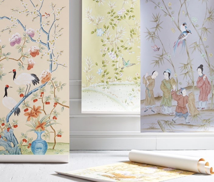 Brunschwig Fils Handpainted Wallpapers